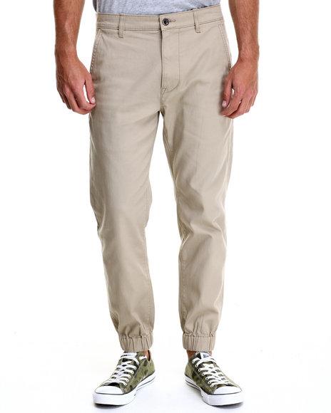 Ur-ID 214685 Levi's - Men Khaki Chino Jogger Self Cuff Twill Pants