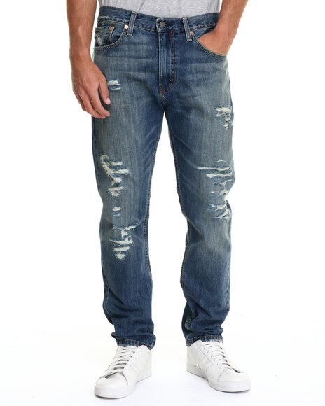 Levi's - Men Medium Wash 508 Regular Taper Fit Toto Jeans