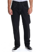 Levi's - 514 Slim Straight Fit Double Stitch Black Black Rigid Jeans