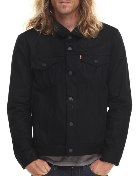Levi's - Men Black Relaxed Trucker Jacket