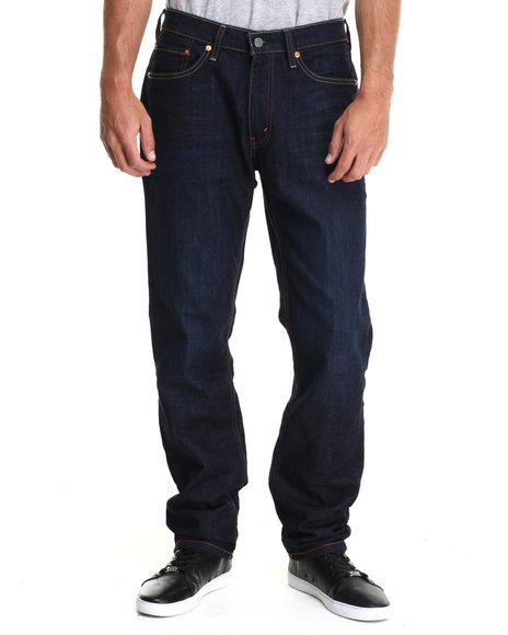 Levi's - Men Dark Blue 541 Athletic Straight Fit The Rich Jeans
