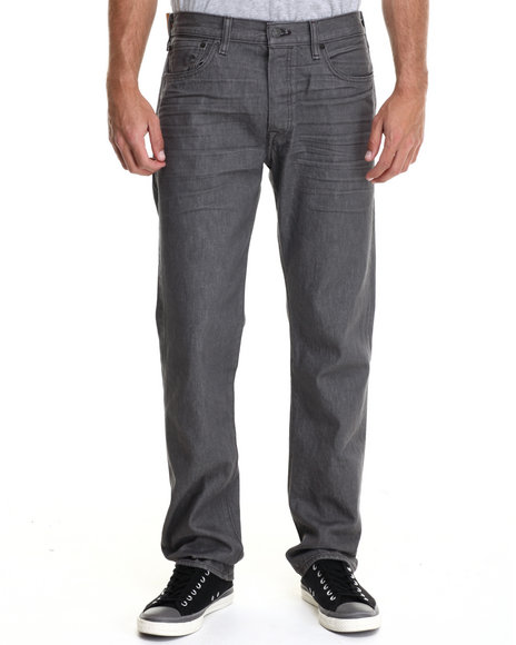 Levi's - Men Grey 501 Original Fit Dimensional Grey Jeans