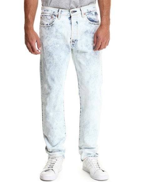 Levi's - Men Light Wash 501 Original Fit Magic Man Jeans - $64.99