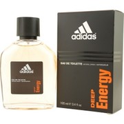 Men - ADIDAS DEEP ENERGY EDT SPRAY 3.4 OZ