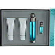 Men - PERRY ELLIS 360 EDT SPRAY 3.4 OZ & AFTERSHAVE BALM 3 OZ & SHOWER GEL 3 OZ & EDT SPRAY .25 OZ
