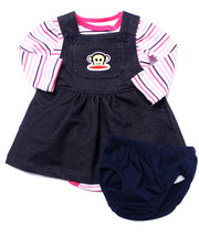 Sets - 2 PC SET - SKIRTALL & L/S BODYSUIT (NEWBORN)