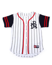 Button-downs - STRIPED PARISH BASEBALL JERSEY (8-20)