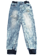 Pants - ACID WASH JOGGERS (8-20)