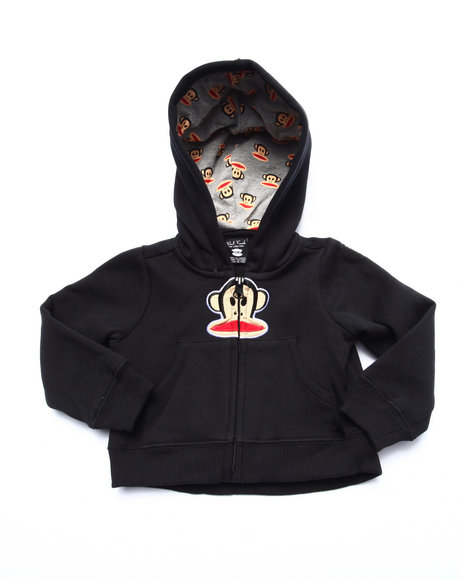 Paul Frank - Boys Black Full Zip Hoody (Infant)