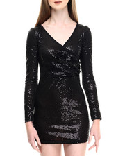 Fashion Lab - Ladies' Knitted Sequins Dress