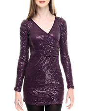Fashion Lab - Giselle Knitted Sequins Dress