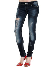 Basic Essentials - Dark Rivers Skinny Jean