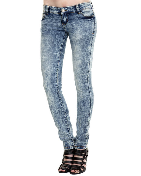 Ur-ID 214658 Basic Essentials - Women Blue Dally Skinny Jean
