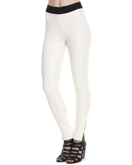 Ur-ID 214721 Freestyle - Women Ivory Snake Skin Scuba Legging