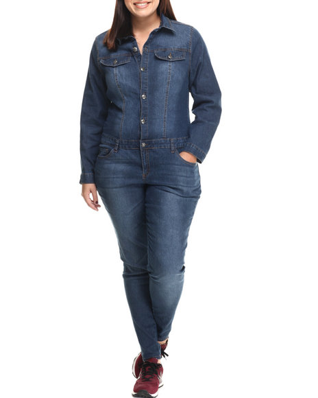 Basic Essentials Dark Blue Jumpsuits