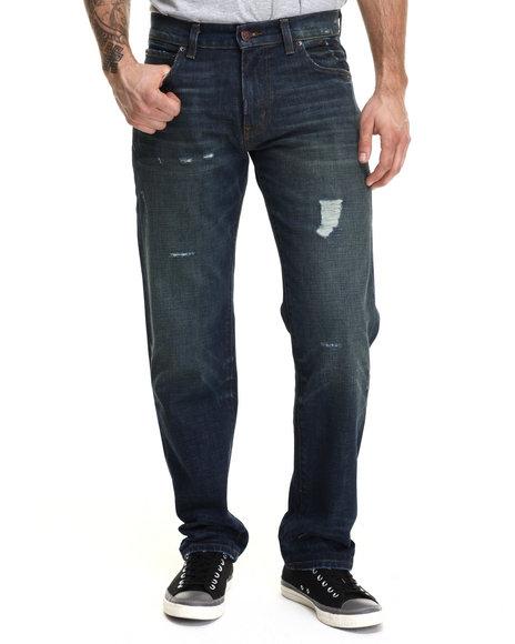 Lrg - Men Medium Wash Core Lrg True Straight Denim Jeans
