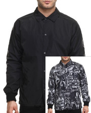 Crooks & Castles - Matsumoto Reversible Coachs Jacket