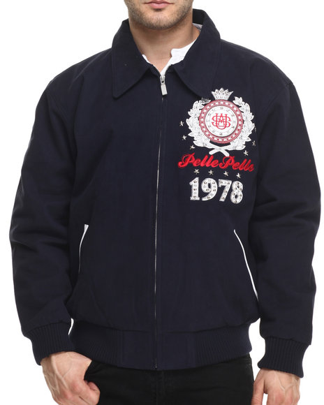 Pelle Pelle - Men Navy Usa Original Pelle Jacket