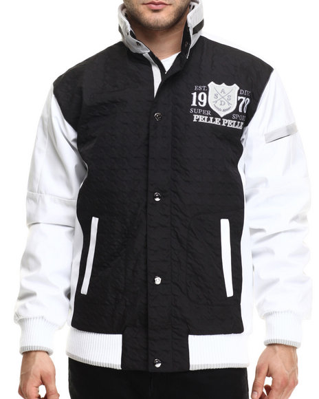 Pelle Pelle - Men Black Super Sport Pelle Jacket