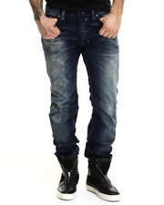 Denim - Safado Bleached Out Side Jeans