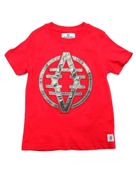 Akademiks - Boys Red Reflected A Tee (4-7) - $10.99
