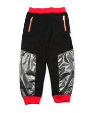 Bottoms - COATED JERSEY JOGGERS (4-7)