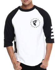 Shirts - White Out Raglan Tee