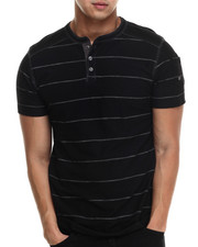 Buyers Picks - Boom Henley Stripe s/s tee