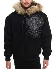 Pelle Pelle - Hooded Platinum & Diamonds Jacket