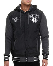 Outerwear - Brooklyn Nets Beast Mode Jacket