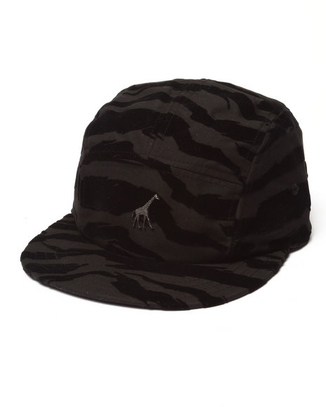 Ur-ID 223021 LRG - Men Black Savage Safari 5-Panel Hat
