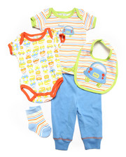 Sets - 5 PC CARS SET (NEWBORN)