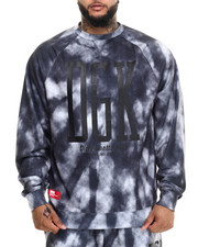 The Skate Shop - Acid Cloud Crew Fleece Sweatshirt (XXL)