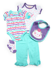 Sets - 5 PC LIL' MONKEY SET (NEWBORN)