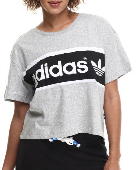 Adidas - Women Grey City S/S Tee