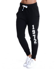 Women - Super Logo Essential Baggy French Terry Track Pants