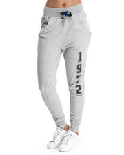 Sweatpants - Super Logo Essential Baggy French Terry Track Pants