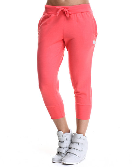 Apple Bottoms - Women Coral Cropped Jogger