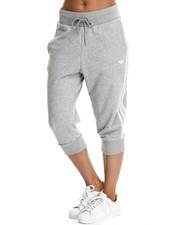Sweatpants - Three - Quarter Track Pants