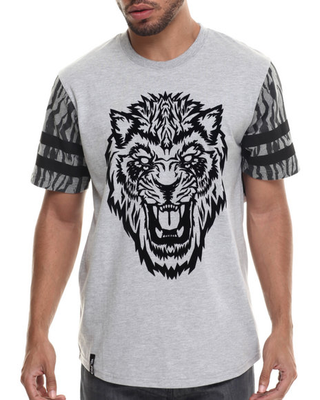 LRG - Men Grey Dust To Dust Baseball T-Shirt