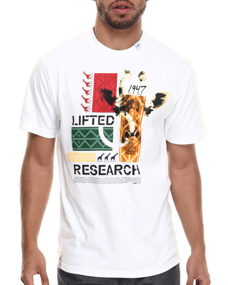LRG - Men White The Crossover T-Shirt