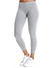Bottoms - Darleen Cotton Spandex Basic Leggings