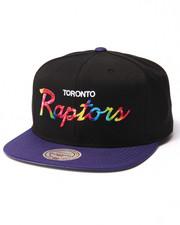 Men - Toronto Raptors Tie Dye Script Snapback hat