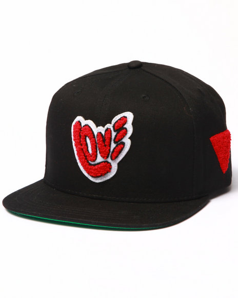 Bass By Ron Bass - Men Black Things Of Love Snapback Hat