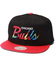 Men - Chicago Bulls Tie Dye Script Snapback hat