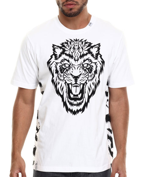 LRG - Men White Los Gatos Del Muerte T-Shirt