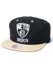 Mitchell & Ness - Brooklyn Nets Butter Nylon 2tone Strapback Hat