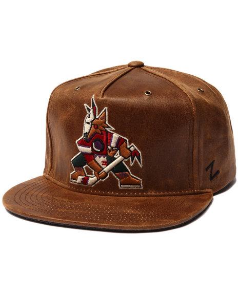 Nba, Mlb, Nfl Gear Men Arizona Coyotes Dynasty Adjustable Hat Brown