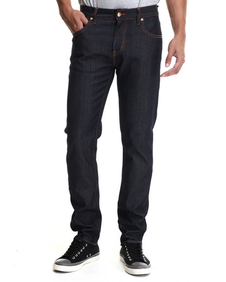 Lrg - Men Dark Wash Core Lrg Slim Straight Denim Jeans