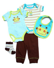 Sets - 5 PC ROBOT SET (NEWBORN)